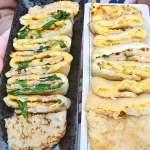 台中古早味粉漿蛋餅推薦,不管平假日都爆多人,份量超實在,還有隱藏版口味蛋餅!