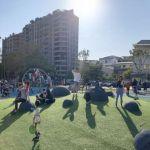 台中南區全新綠川水淨樂園,多樣新奇兒童遊樂設施,地面鋪上防護地墊更安全