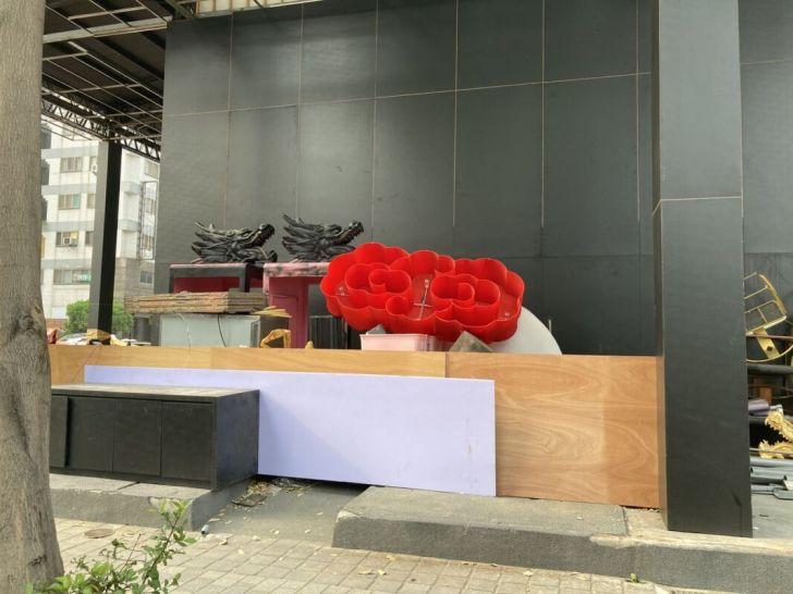2021 03 30 044507 - 公益路角間幸福堂新品牌確定進駐,幸福金龍鍋已掛上招牌,內部裝潢整修中