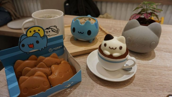 2021 03 31 020144 - 透天白色奶泡貓咖啡館好好拍,咖波迷快來找奶泡貓一起喝下午茶!