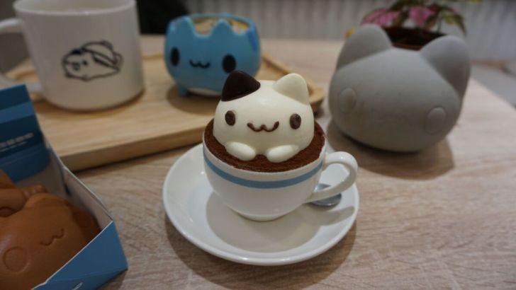 2021 03 31 020201 - 透天白色奶泡貓咖啡館好好拍,咖波迷快來找奶泡貓一起喝下午茶!
