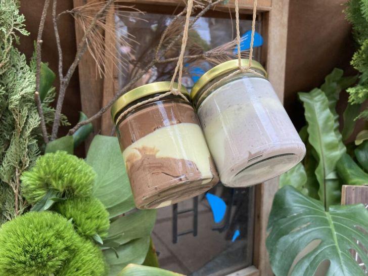 2021 04 28 235252 - 周末市集限定叢林療癒系玻璃蛋糕罐,它的食驗室,台法混血創意甜點,方便攜帶又環保