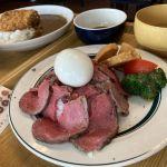向上市場不起眼溫馨日式家庭料理,大推薄切炙燒牛肉飯,還有北海道傳統小吃伊摩奇口感超特別