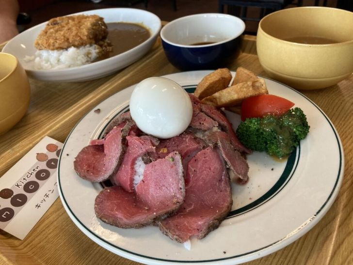 2021 04 30 174625 - 向上市場不起眼溫馨日式家庭料理,大推薄切炙燒牛肉飯,還有北海道傳統小吃伊摩奇口感超特別