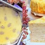 熱血採訪|芋頭控必吃!超厚實芋頭千層蛋糕,取用在地食材,真材實料,吃的到新鮮大甲芋頭,價格親民,母親節蛋糕首選~