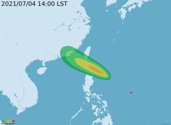 2021 07 04 164120 - 今年第6號颱風「烟花」最快明天生成,這兩日恐發布海警,若北偏不排除陸警