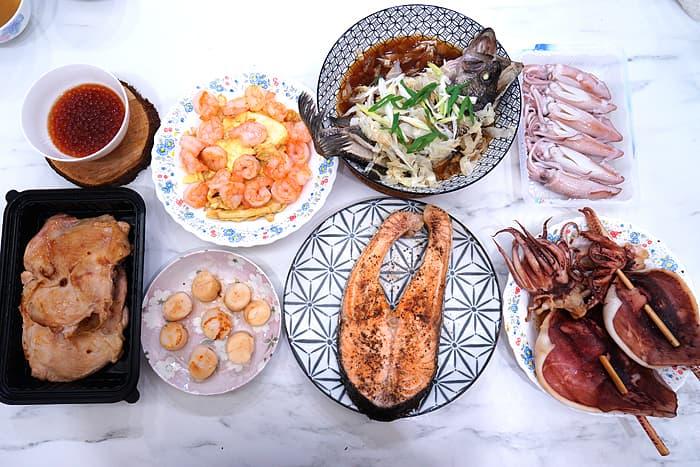 2021 07 08 121904 - 熱血採訪│台中浮誇懶人箱!蝦幫你剝好,澎湖冰卷、鮭魚卵退冰直接吃