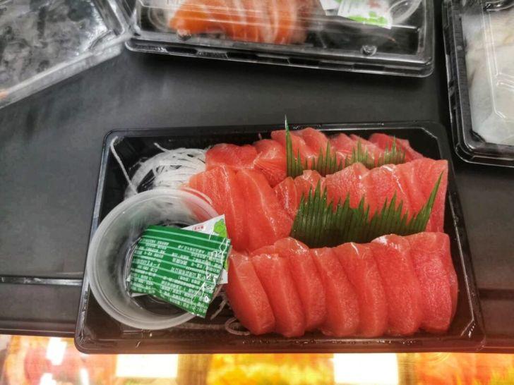 2021 09 02 213016 - 熱血採訪|台中海產超市重新裝潢,歡慶開幕消費滿千就送三色生魚片,無限累加