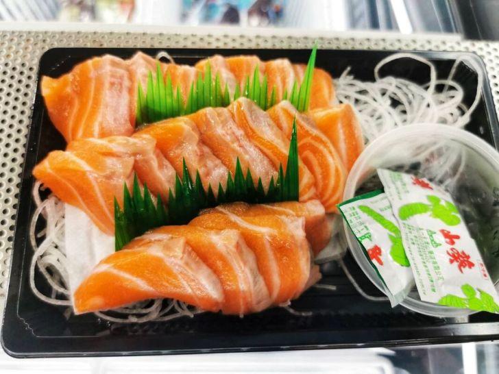 2021 09 02 213100 - 熱血採訪|台中海產超市重新裝潢,歡慶開幕消費滿千就送三色生魚片,無限累加