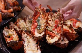 2021 10 05 192805 - 熱血採訪|人少也能吃!滿滿龍蝦吃到爽,新鮮蝦肉一拉整塊就起來