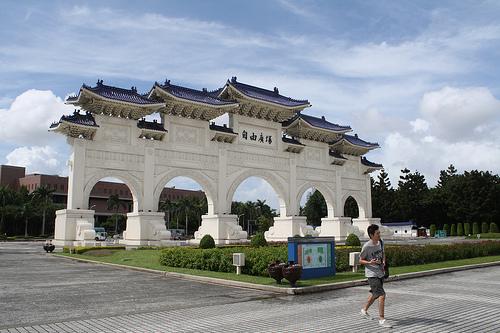台北の中正紀念堂は人気観光スポット