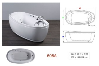 壓克力浴缸 - 606A