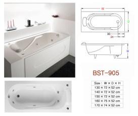 壓克力浴缸 - BST-905