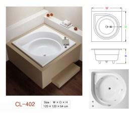 壓克力浴缸 - CL-402
