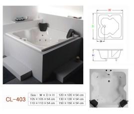 壓克力浴缸 - CL-403
