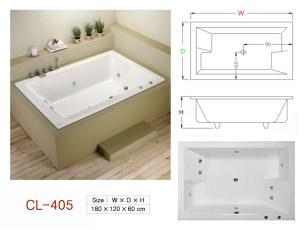 壓克力浴缸 - CL-405