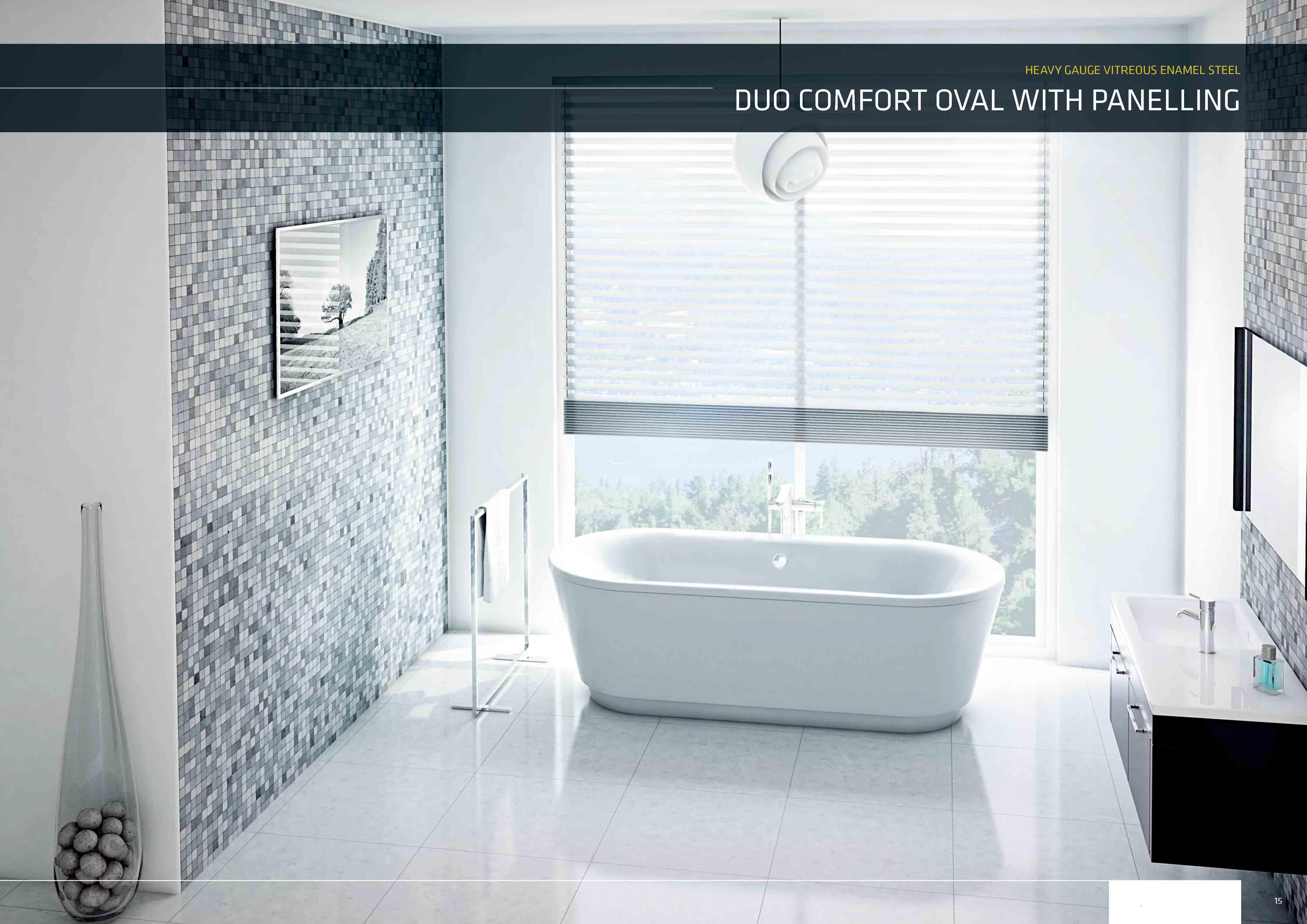 琺瑯鋼板浴缸 Blb 獨立浴缸