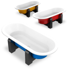 Enamel Bathtub Series