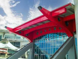 TECO Supplied Enamel Panels to National Museum of Marine Biology Aquarium Project