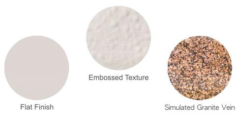 TECO Vitreous Enamel Textures Image