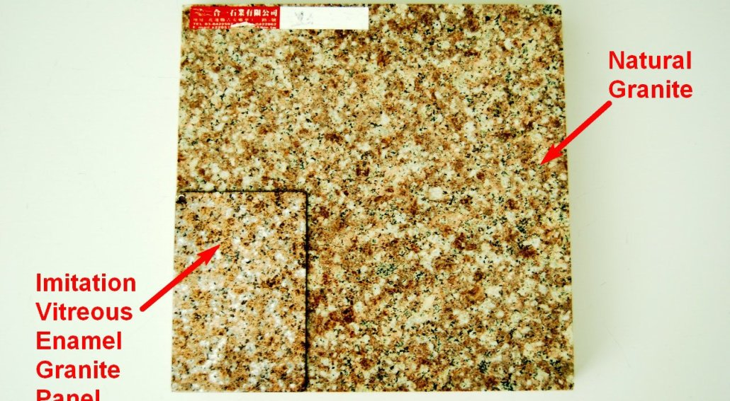 Imitation Vitreous Enamel Granite Panel