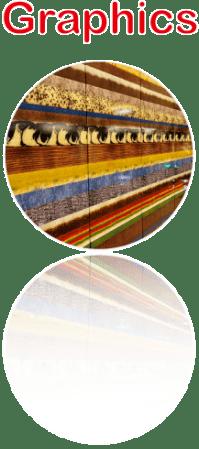 Enamel Panel Graphics Atrboard