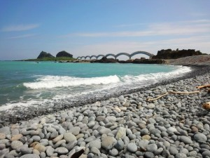 The Three Immortals in Taitung (Taidong) County, Taiwan