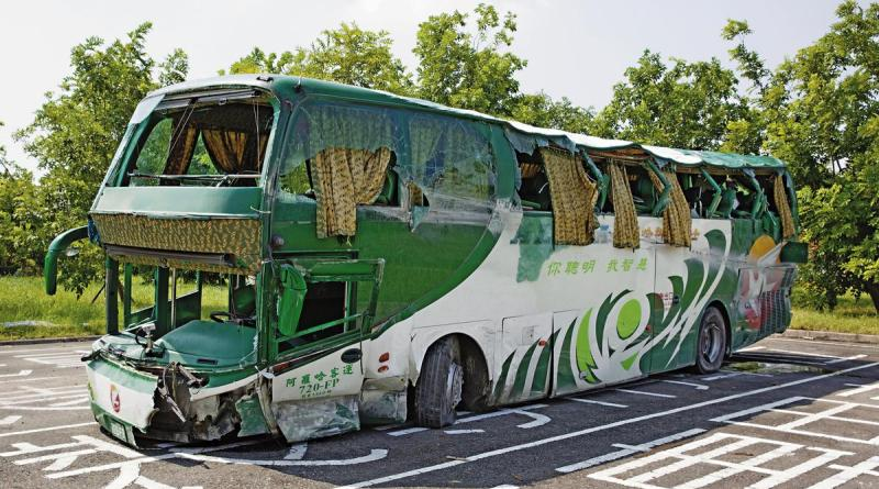 bus involved in fatal accident