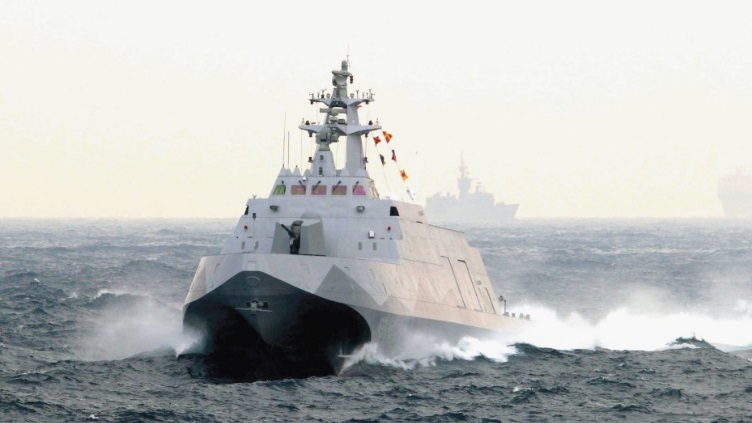 ROC Navy Tuo Chiang class stealth missile corvette