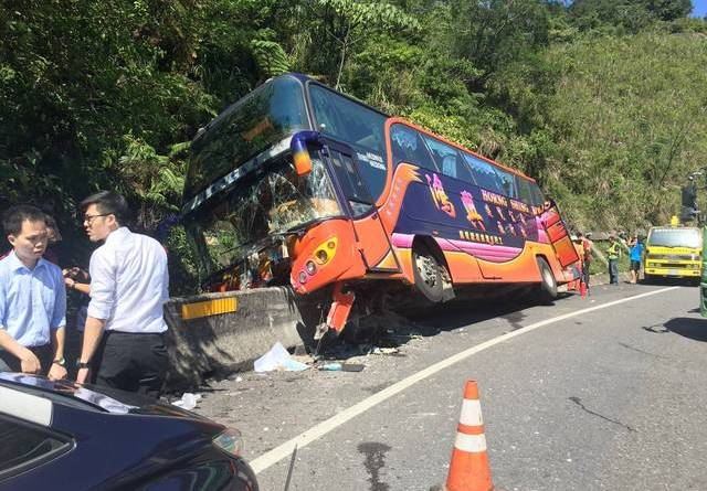 bas crashed near Keelung