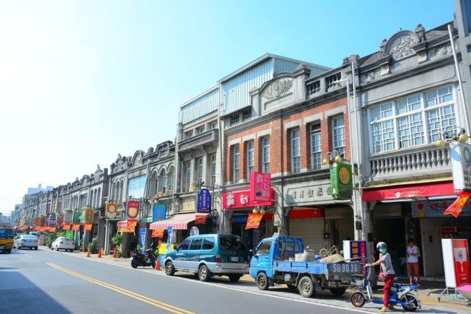 Xinhua Old Street, a historical precinct in Tainan City