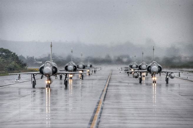mirage fighters on runway