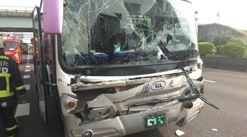 bus after accident