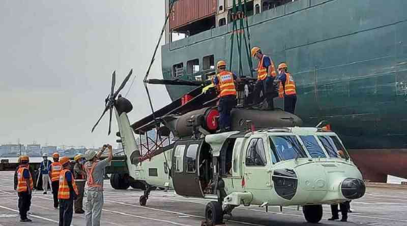 Black Hawk helicopters delivered in Taiwan