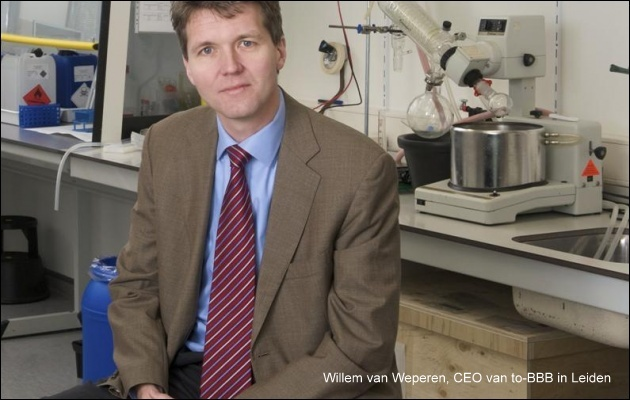 Willem van Weperen van Biotech bedrijf to-BBB presenteert zijn ervaring met Taiwan.