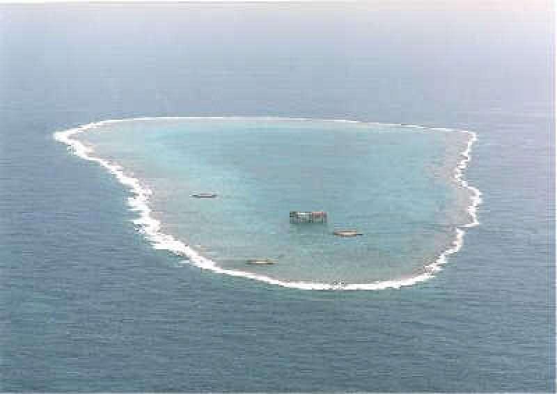 日本,沖之鳥礁。