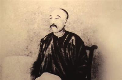 Portrait of Liu Mingchuan in China