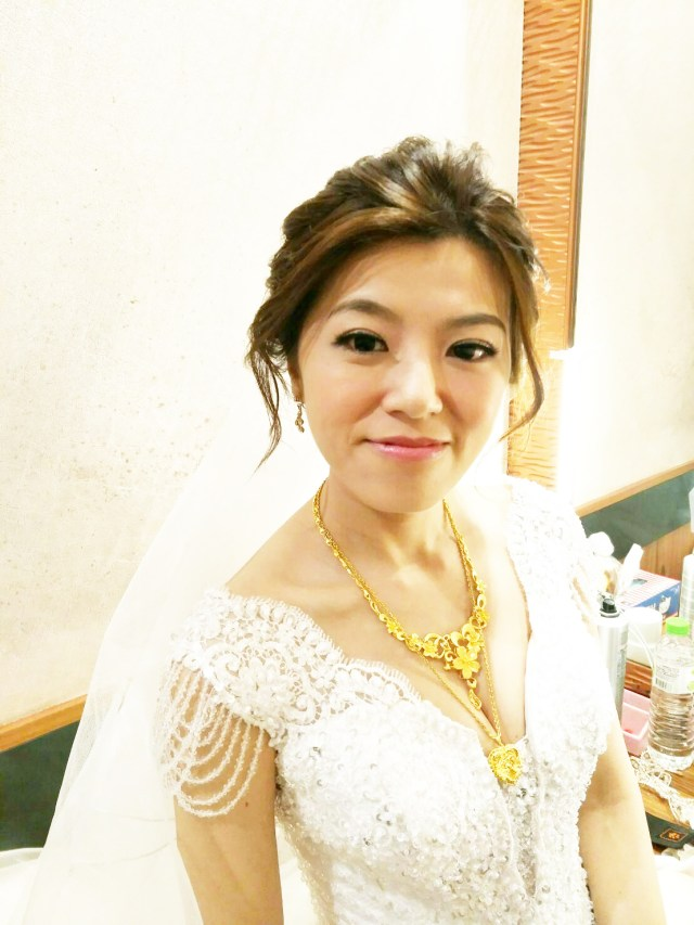 台北新娘秘書推薦-新秘千越:結婚宴客造型