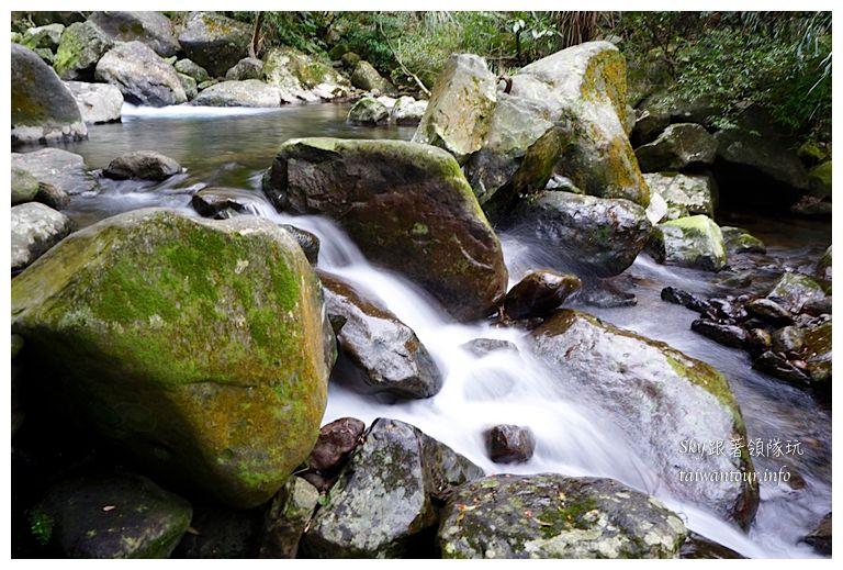 北部景點推薦石門青山瀑布01543
