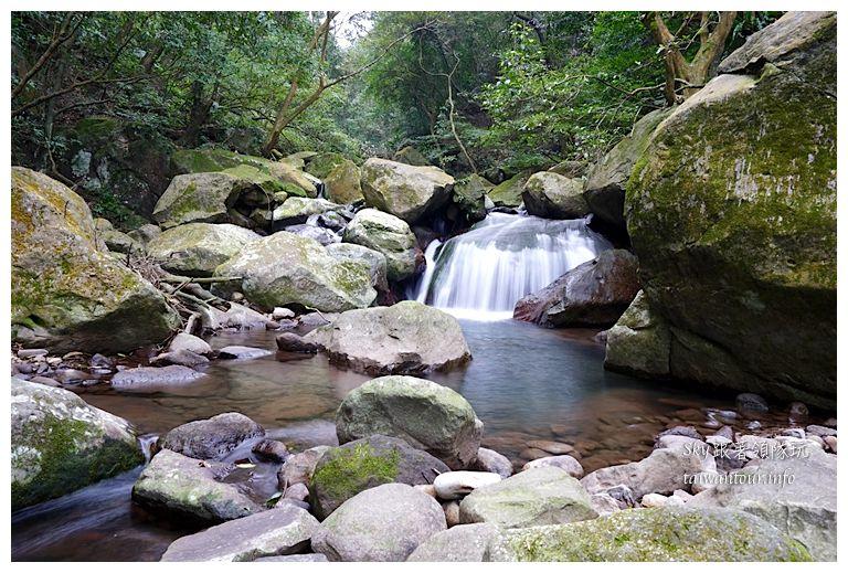 北部景點推薦石門青山瀑布01566