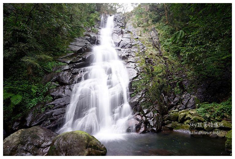 北部景點推薦石門青山瀑布01602