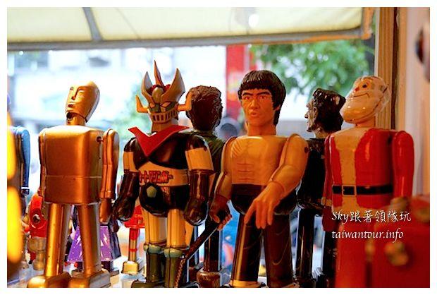 台中綠園道機器人主題餐廳鐵皮駛91000