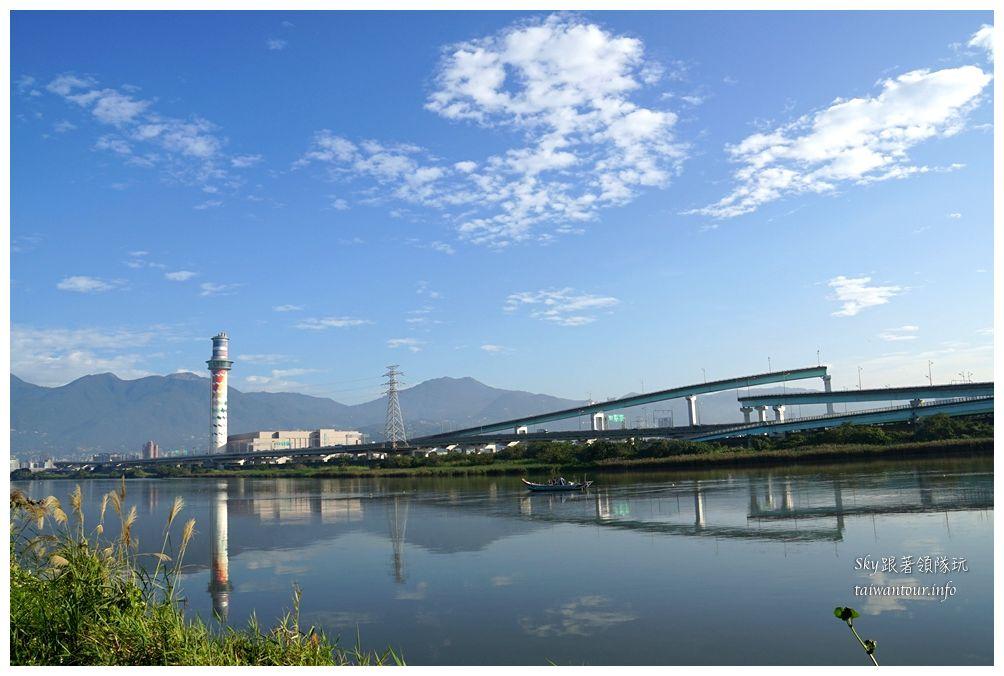 台北景點推薦社子島自行車道09370