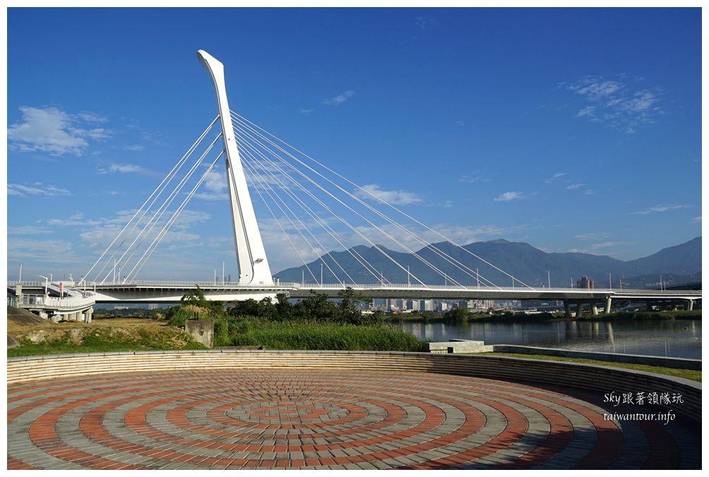 台北景點推薦社子島自行車道09386