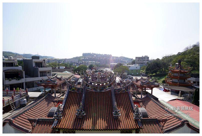 台北景點推薦龜山壽山巖觀音廟櫻花03740