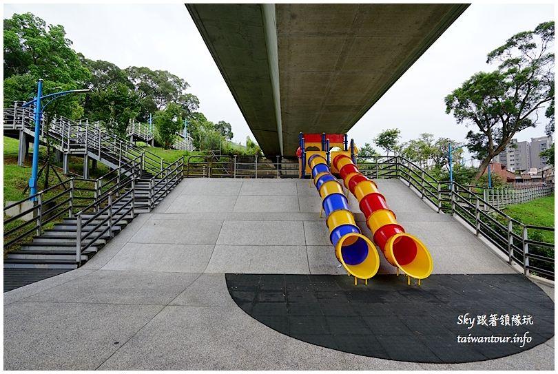 桃園雨天滑梯推薦營盤生態環保公園DSC08820