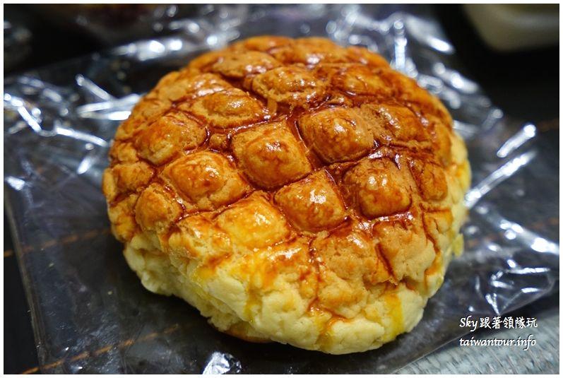 淡水美食推薦廣泰香菠蘿麵包DSC04768