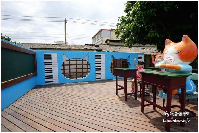 雲林景點推薦屋頂上的貓貓咪小學堂DSC07616