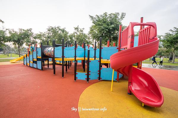台北景點推薦-士林科學溜滑梯和科學玩具【美崙公園】
