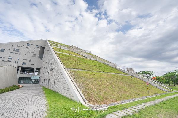 台東親子景點推薦【台東大學圖書館】世界八美之首